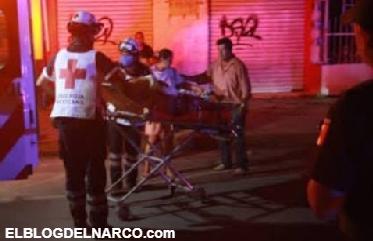 Atacan a balazos a mujer embarazada y muere, al momento tratan de salvarle la vida al Bebe.