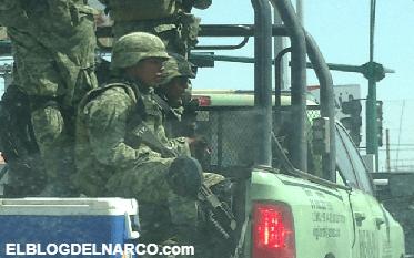 Dos Narco-sicarios mueren en Balacera por robo de Combustible en Frontera
