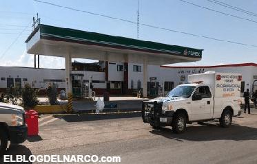 Ejecutan a despachador de gasolina