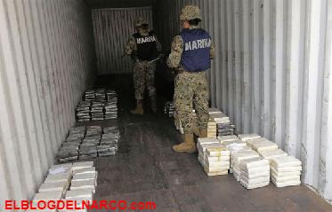 Han asegurado más de 104 toneladas de diversas drogas al Cártel del Sinaloa y al CJNG.