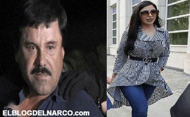 Juez regaña a El Chapo por no quitarle la mirada de encima a Emma Coronel a quien no dejaba de mirar durante audiencia