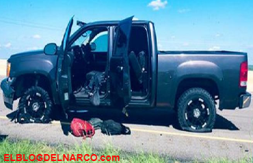 Nueve detenidos después de persecución de vehículo desde Zapata, Texas venian huyendo