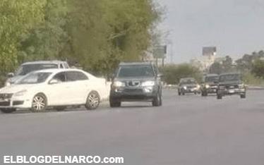 Nuevo Laredo, CDN instala narco retén cobrando 500 dolares a Regios.