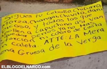Sicarios dejan cabeza humana con amenaza en la estatua de Tintan Acapulco, Guerrero.
