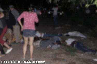 Sicarios iban por una persona… y ejecutan a 5 en Pénjamo
