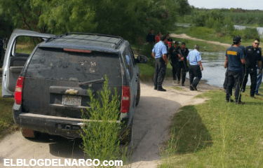 Sicarios levantan a mujer a la orillas del Rio Bravo