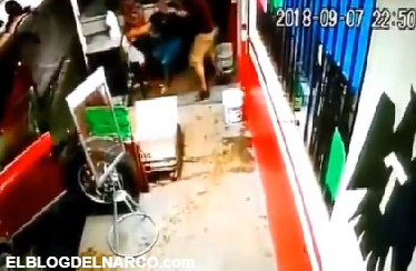 Vídeo donde Comando armado intenta levantar a una menor en Monterrey