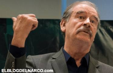 """Vicente Fox explota """"No es justo que nos quiten nuestra pensión""""."""