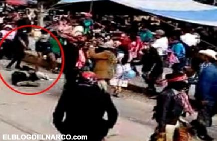 Ejecutan a danzante durante festividad en Tlaxiaco, Oaxaca