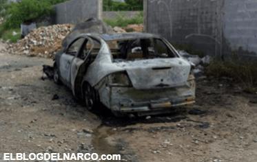 Encuentran incendiado auto usado en crimen de agente en NL