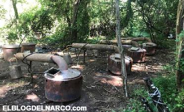 Esto es lo que encontraron en narcolaboratorios asegurados en Sinaloa