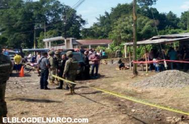 Mas información la ejecución del periodista Sergio Martínez González en Tuxtla Chico