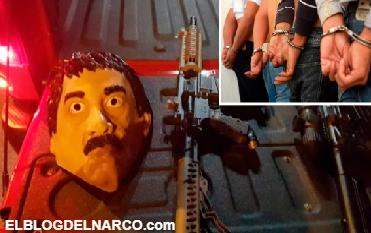 Se disfrazaron del Chapo con todo y armas y les cayo la poli...