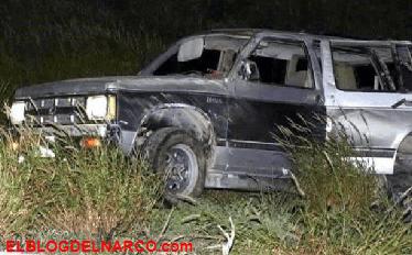 Sicarios ataca camioneta familiar matando a 3 hombres y 2 mujeres, una niña sobrevive al ataque en carretera de Nuevo León