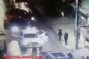 Vídeo de un Convoy de Sicarios en Naucalpan es del CJNG