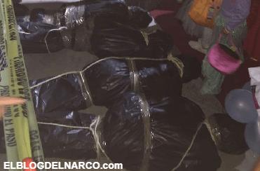 La macabra decoración inspirada en el narco en el Cartel de Sinaloa que sigue dando de qué hablar