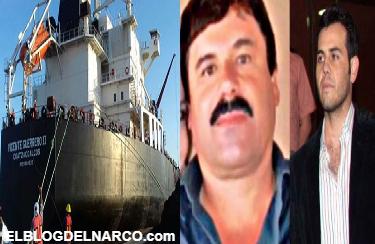 Así era el plan del Chapo y el Vicentillo para enviar cocaína en los grandes buques petroleros de Pemex