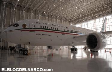 Así es el avión presidencial por dentro (Fotos)