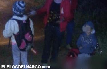 Comando de Sicarios se lleva autobus lleno de migrantes centroamericanos baja a cinco y ejecuta a una mujer...