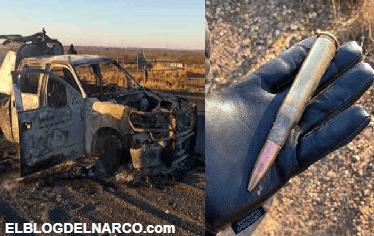Con armas calibre 50 y granadas el CDN ataco a elementos de la Marina (IMÁGENES)