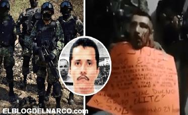 Grupo élite de El Mencho manda temible advertencia al Cártel Santa Rosa de Lima (VÍDEO)