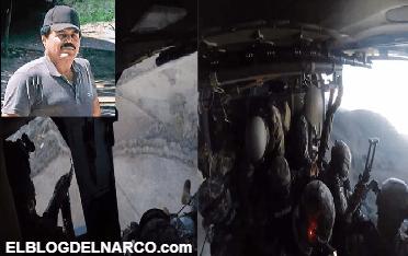 Al rancho del Mayo llegaron en 4 helicópteros Black Hawk agentes de la DEA y la Marina para capturarlo primero antes que el Chapo (VÍDEO)