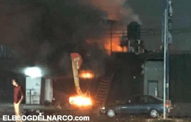 Comando del Cartel de Jalisco deja calcinados con bombas Molotov a 5 en Restaurante
