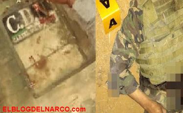 Con vestimenta tipo militar sicarios del CDN atacaron a Militares en Tamaulipas, 5 sicarios y un militar muertos deja balacera