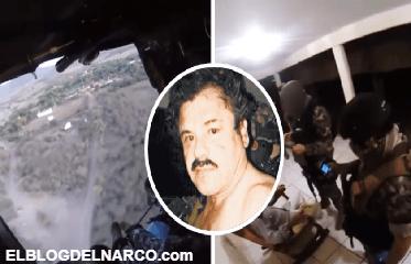 Difunden vídeo del operativo para capturar a El Chapo en guarida de El Mayo Zambada