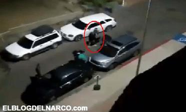 Graban momento que levantan a un hombre que grita suplicando por ayuda en Cabo San Lucas (VÍDEO)