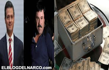 Peña Nieto buscó al Chapo y le pidió un pago de 250 millones de dólares, el presidente quería trabajar con él