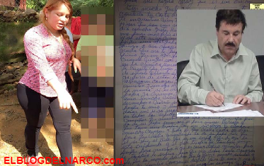 Revelan que decía la carta de amor que el Chapo le envió desde la prisión a Lucero Sánchez la Chapodiputada