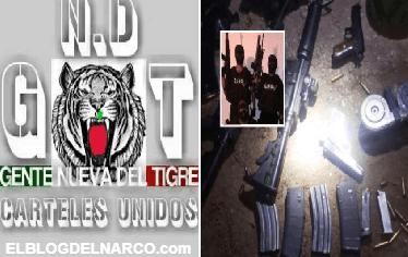 Gente Nueva del Tigre decreta toque de queda y anuncia guerra contra Cártel la Línea