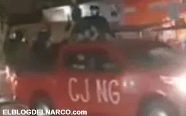 """Los hombres armados de """"El Mencho"""", del cartel Jalisco Nueva Generación"""