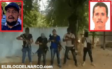 Sicarios muestran su apoyo al CJNG de El Mencho y mandan mensaje a Los Viagras (VÍDEO)