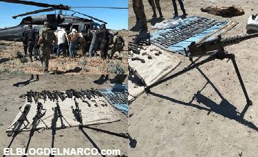 VÍDEOS y FOTOS, Militares son atacados por el CJNG y tras pedir apoyo llega helicóptero Black Hawk artillado y caen 11 integrantes con poderoso arsenal en Jalisco