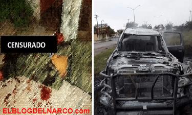 Difunden sangrientas imágenes de cuerpos tras enfrentamiento entre el CDG y Cartel del Noreste