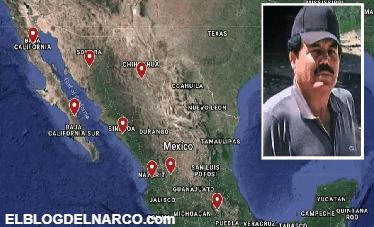 """El CJNG de """"El Mencho"""" avanza en México, pero el CDS del """"Mayo"""" Zambada tiene mucho poder...."""