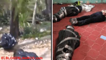Difunden filmación de cuerpo embolsado (VÍDEO)