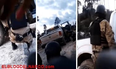 Difunden grabación de feroz enfrentamiento entre la Marina y el CJNG