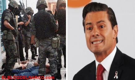 Difunden vídeo de una ejecuciones extrajudiciales en gobierno de Peña Nieto
