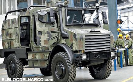Ejército de México diseña y fabrica vehículos militares a prueba de todo capaces de soportar el fuego del temible Barret calibre .50
