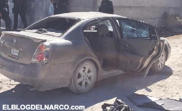 Emboscan a comandante de la policía en Chihuahua, en balacera mueren dos sicarios y el comandante de la policia