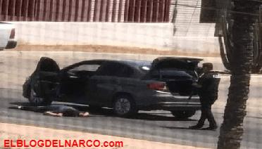 Imagenes del enfrentamiento en Hermosillo Sonora, seis Sicarios muertos entre ellos a