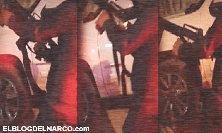 Impactan imágenes de sicario del CDN accionando arma en Tamaulipas (VÍDEO)