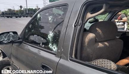 Sicarios se topan con convoy militar en Nuevo Laredo, enfrentamiento y persecución deja 4 sicarios abatidos del Cártel del Noreste