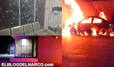 VÍDEO Sicarios le tienden trampa a policías y revientan la comandancia, muere el comandante de turno y un civil en Anáhuac, Chihuahua
