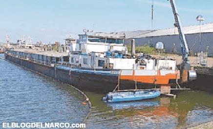 Carteles mexicanos construyen un narcolaboratorio flotante en un barco en Holanda