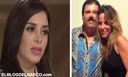 @KatedelCastillo amenaza a políticos y revela su verdad sobre su relación con Emma Coronel y El Chapo