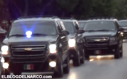 La historia de cuando el Estado Mayor que cuidaban al presidente salieron huyendo 2 veces de Tamaulipas (VÍDEO)